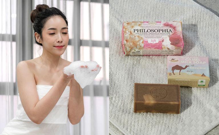 【洗面皂用法好麻煩?】編輯自製潔面皂泡泡及環保網袋,令手工皂好用到不得了!