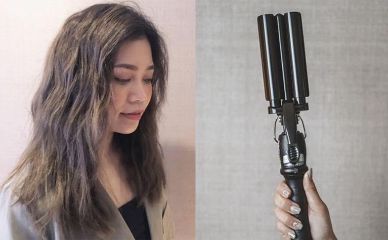 【編輯實試韓式泡麵頭神器✨】5分鐘減齡韓式捲髮:三管電髮棒 VS Philips負離子直髮夾
