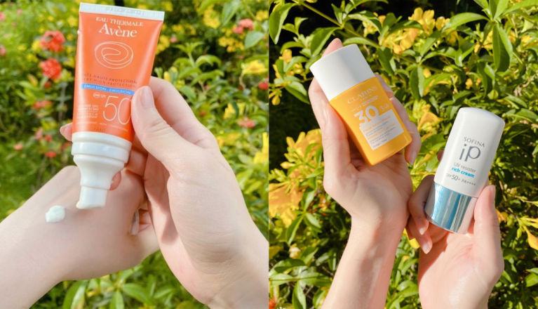 【預防色斑】3款好用防曬產品推介☀️防水+防汗💦保濕鎖水還可用作妝前底霜?
