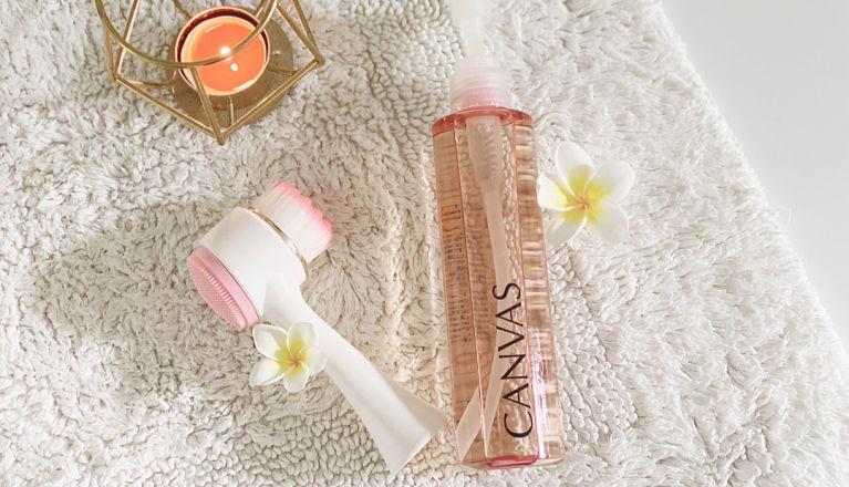 【卸妝潔膚很重要】亮肌去粉刺👌🏻雞蛋花香薰潔膚油+按摩洗面刷推介