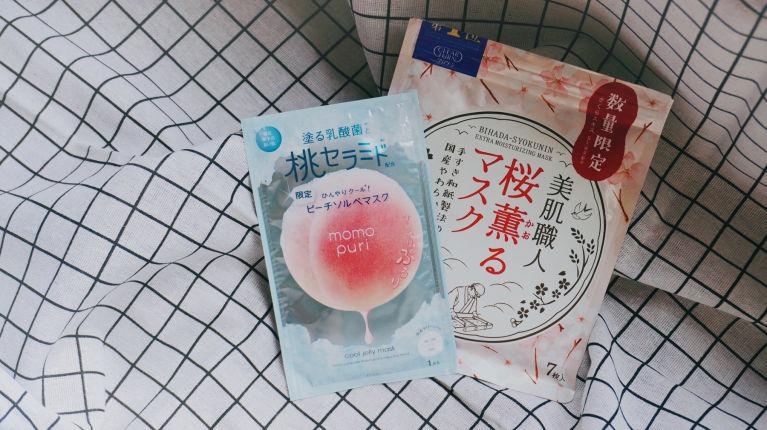 編輯實評Donki必買藥妝|日本和紙櫻花補濕面膜超高質、人氣蜜桃啫喱面模好用嗎?