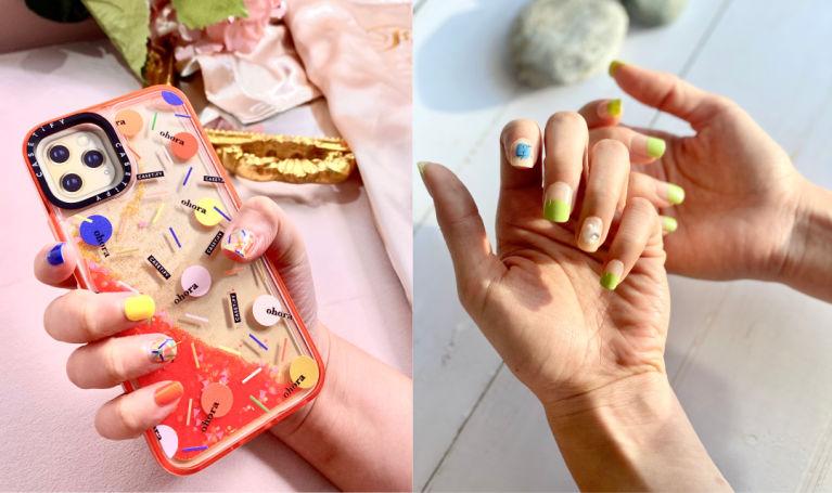 指甲貼都有Gel甲效果|實試韓國Dashing Diva、Ohora指甲貼