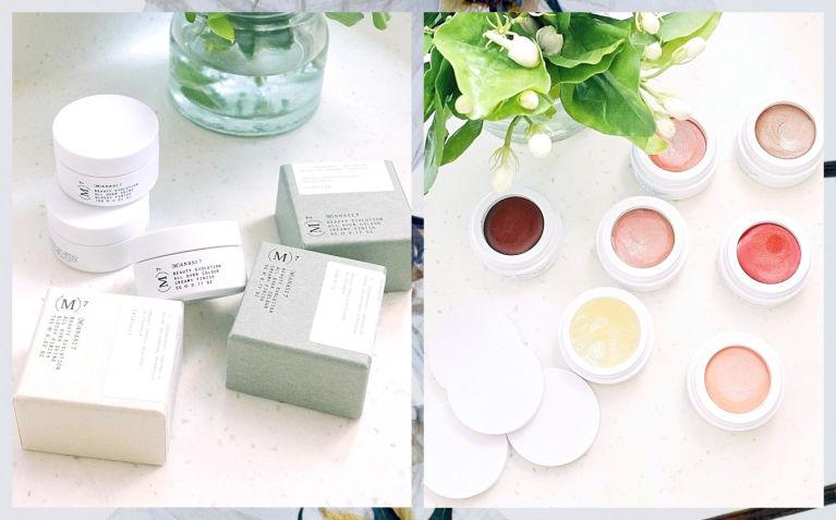 小眾化妝品開箱 |顏色超美😍眼影+唇膏+胭脂+修容提亮全靠小白瓶|瑞典Manasi 7
