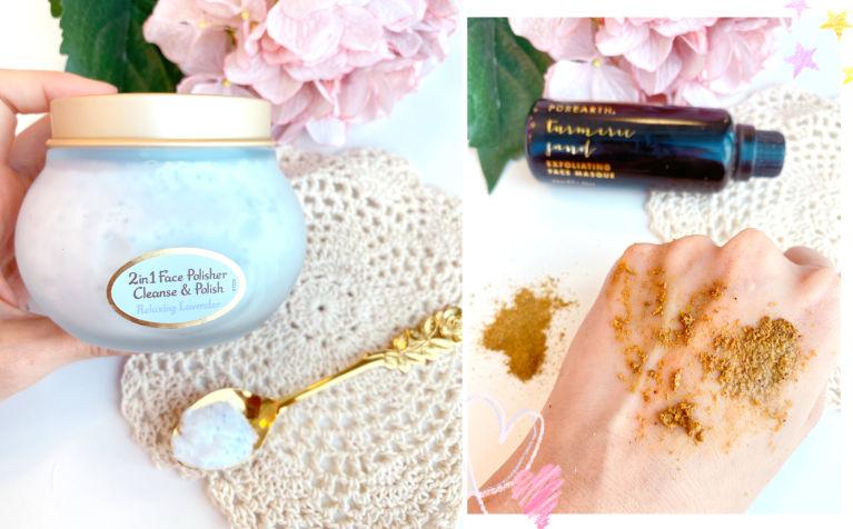 【去角質的重要性】薑黃粉敷面有用嗎?敏感肌也推薦的磨砂潔面霜、更生霜、面膜
