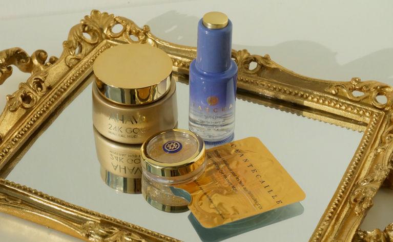 極奢華24K金護膚品推介|$2000只能買到8對眼膜💰精華真的含片片金箔!