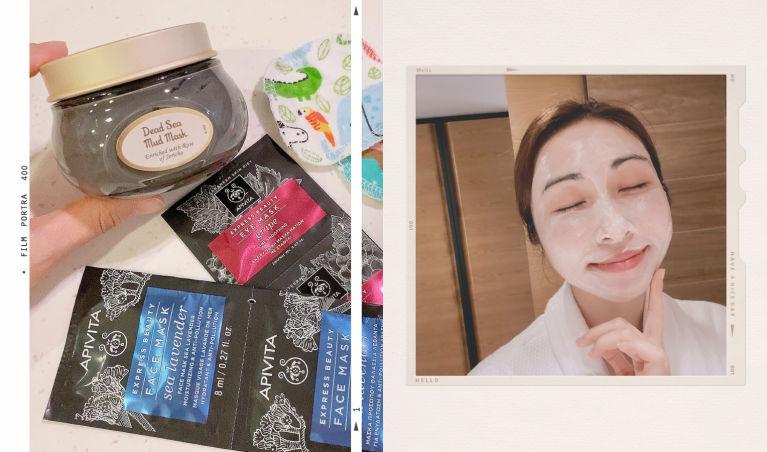 塗抹式面膜好用推薦|Apivita、Sabon 必入手的清潔保濕Mask+Eye Mask