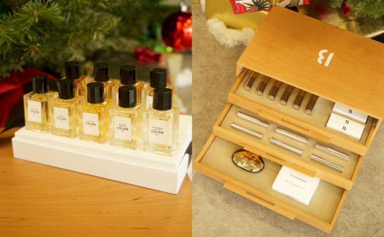 絕對是最夢幻的聖誕禮物|開箱Celine迷你香水禮盒+Byredo過萬限量彩妝木箱