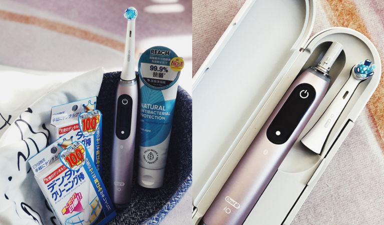 二千元一支電動牙刷好不好用?Oral-B新磁性電動牙刷、藥妝必買美白牙齒產品|口腔護理+美白牙齒推介!