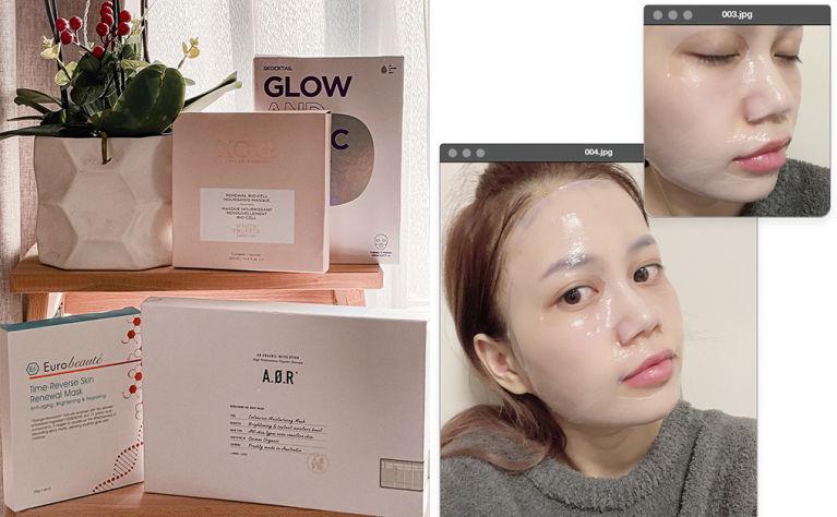 anti aging and moisturizing mask