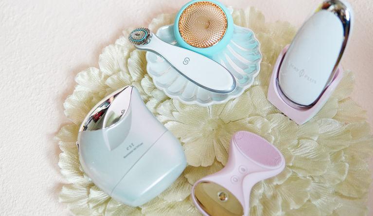 編輯實測5款家用美容儀|體驗全新高科技噴射超薄透明絲膜💦$979 冰熱嫩膚按摩儀超好用?