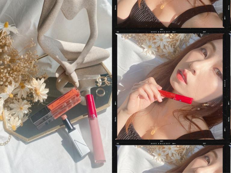 唇色夠美,一年四季也適用,編輯有好幾款日常愛用的唇釉、唇膏及唇彩,打算由夏天。