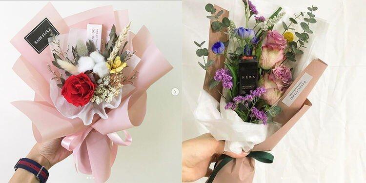 女人最愛的東西當然離不開鮮花跟化妝品,若將兩者結合在一起,這必定是女人們一生中最愛的禮物!