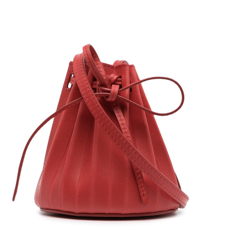 Mansur Gavriel Baby pleated bucket bag