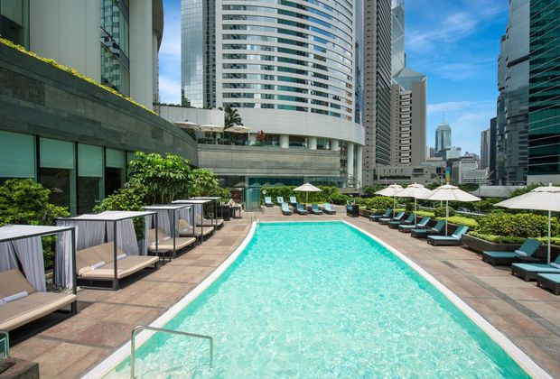 香港港麗酒店, Conrad Hong Kong, Conrad Hotel, 周末, relax, 周末好去處, 悠閒, 泳池, The Health Club, Weekend by The Pool