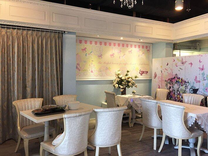 Princess Cafe, afternoon tea, 公主風