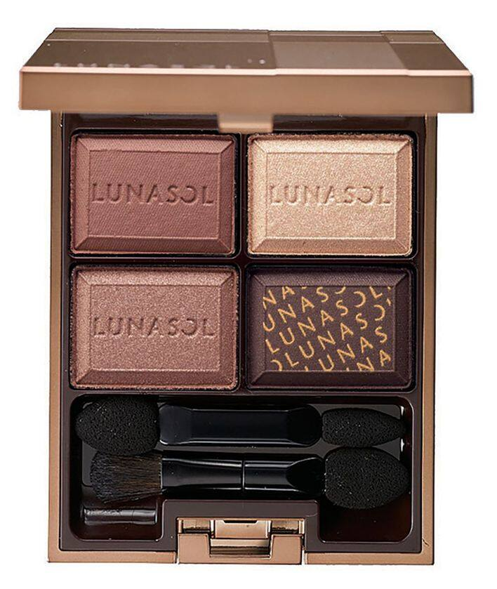 LUNASOL Selection de Chocolat Eyes 魅惑朱古力4色眼影組