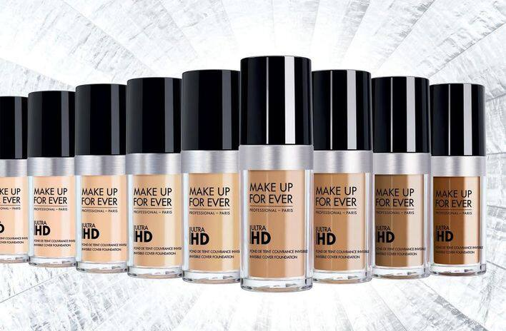 MAKE UP FOR EVER Ultra HD Foundation 超高清無瑕粉底液