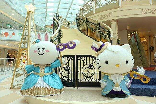 Hello Kitty, Hello Kitty LINE, Hello Kitty LINE 香港, Hello Kitty LINE FRIENDS, Hello Kitty LINE FRIENDS 聖誕節, Hello Kitty LINE FRIENDS crossover, Hello Kitty 聖誕節, LINE FRIENDS 聖誕節