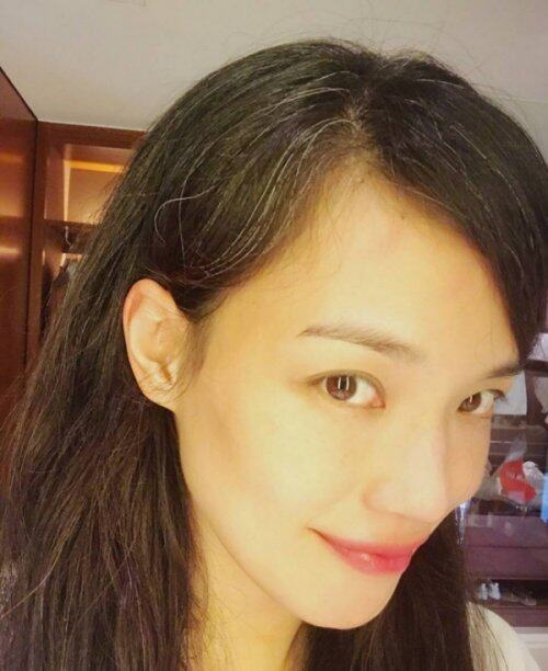 grey hair_shu qi