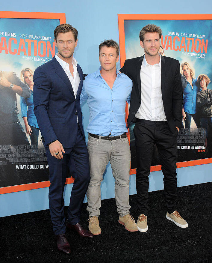 Chris Hemsworth Liam Hemsworth Luke Hemsworth