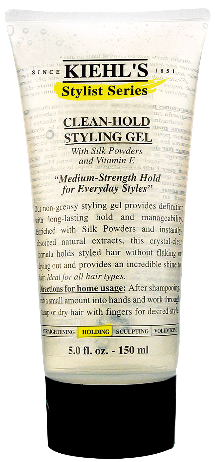 Kiehl's Stylish Series Clean-Hold Styling Gel($145)