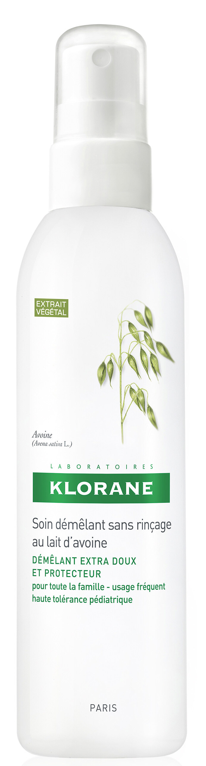 Klorane Leave-in Detangling Spray with Oat Milk($190)