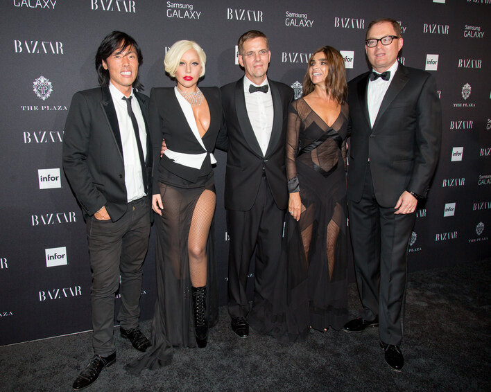 Stephen Gan, Lady Gaga, Duncan Edwards, Carine Roitfeld, David Carrey