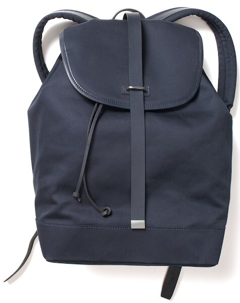 Club Monaco x Tommy Ton backpack (front)