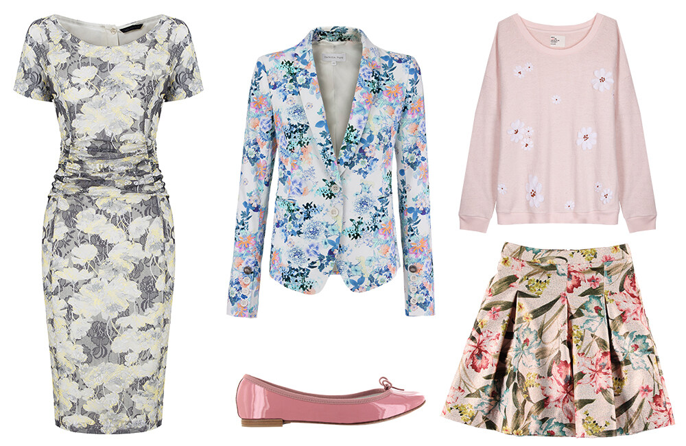 pretty floral items